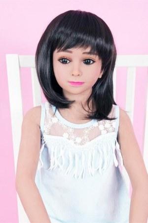 128cm flat Chested Mini Love Doll - Molly