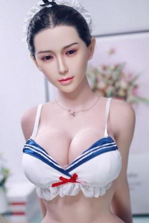 161cm Lifelike Silicone Maid Sex Doll - Debbie