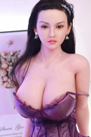 161cm Realistic Silicone Head Sex Doll - Yunshu