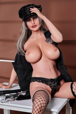 163cm Big Boobs MILF Mature Sex Doll - Peggy