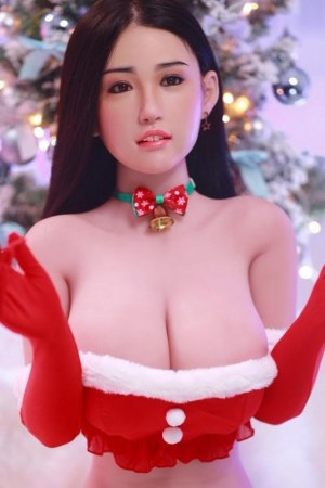 164cm Big Breasts Sex Doll with Silicone Head - Rong