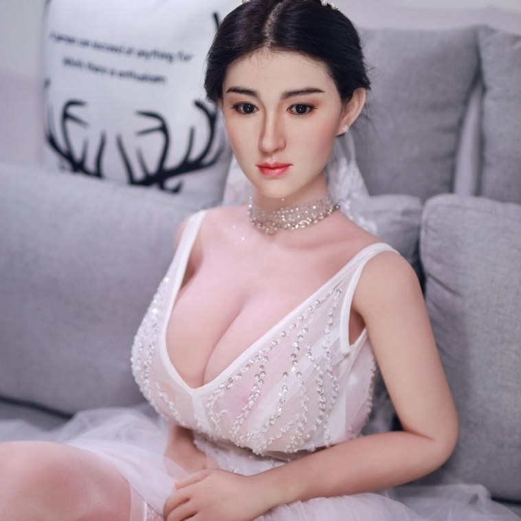 164cm Real Sex Doll with Silicone Head - XiaoFei