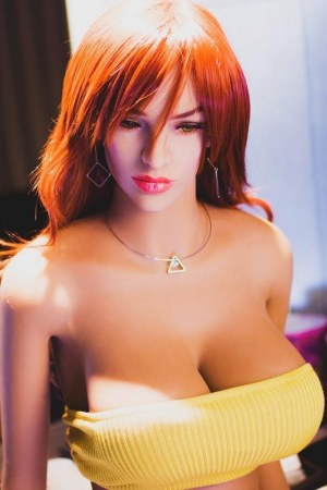165cm E Cup Realistic Silicone Doll for Sex - Judith