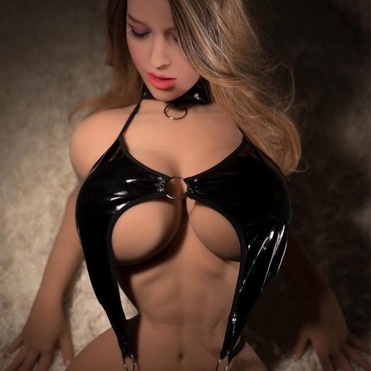 168cm Slender Waist Big Boobs Love Doll - Violet