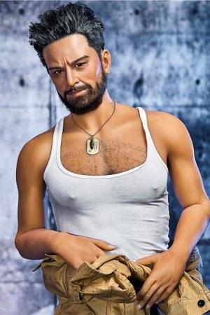 175cm Male Sex Doll Silicone Head - Jeff