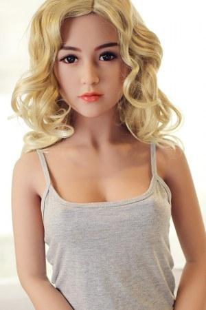 156cm B Cup Lifelike TPE Real Sex Doll - Ella
