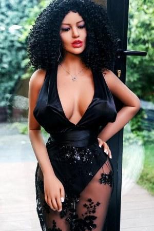 158cm Black Sex Doll Ebony Love Dolls - Hazel