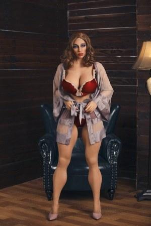 158cm Fat Hips Chubby Sex Doll - April