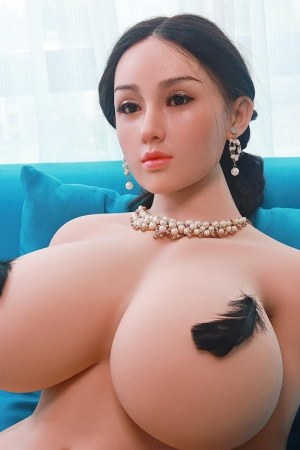159cm Chubby Fat Sex Doll with Silicone Head - Min