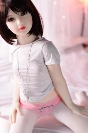 122cm Small  Flat Chest Sex Doll - Shino